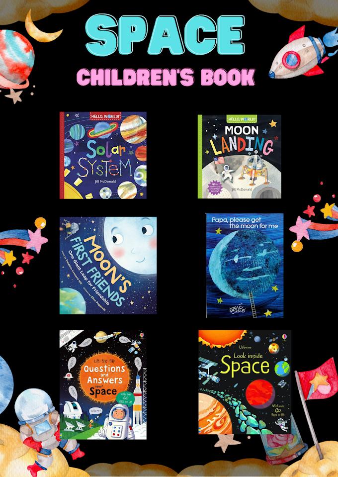 หนังสือแนวอวกาศ ภาษาอังกฤษ สำหรับเด็ก 6 เล่มที่ต้องมีไว้ในครอบครอง