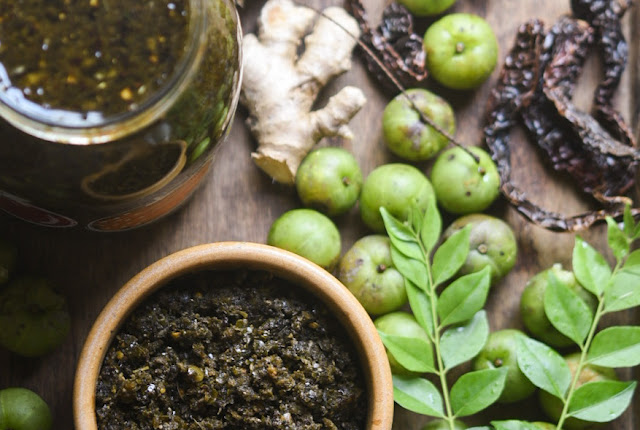 Amla and curry leaf pickle to boost immunity