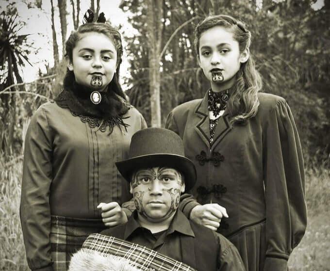 Facial tattoos of Maori