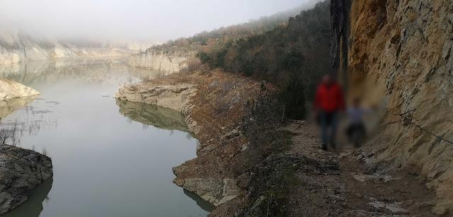 inicio del camino del Congost de Mont-Rebei