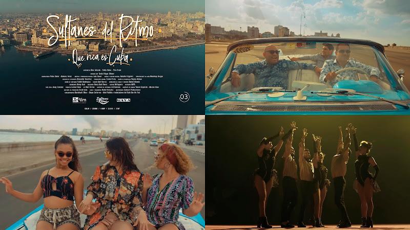 Sultanes del Ritmo - ¨Que rica es Cuba¨ - Videoclip - Dir: Zenia Veigas Chkout. Portal Del Vídeo Clip Cubano. Música popular bailable cubana. Cuba.