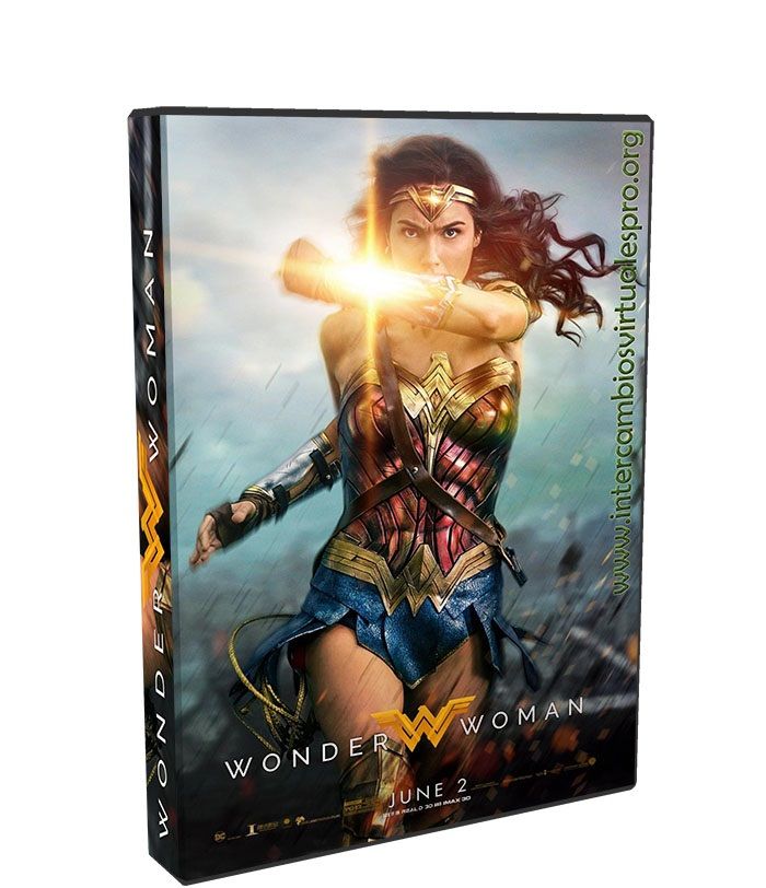 Mujer Maravilla poster box cover