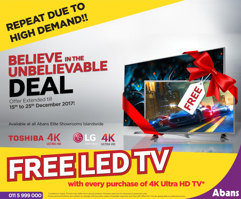 "FREE LED TV"" | Blog - Smart eMarketing Sri Lanka"