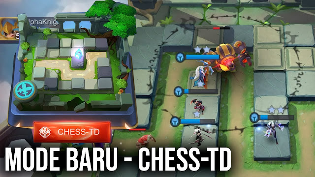 Cara Mengatasi Error saat bermain Mobile Legends Mode Chess td