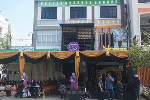 Grand Opening D'sanas Parfum Halal Pontianak