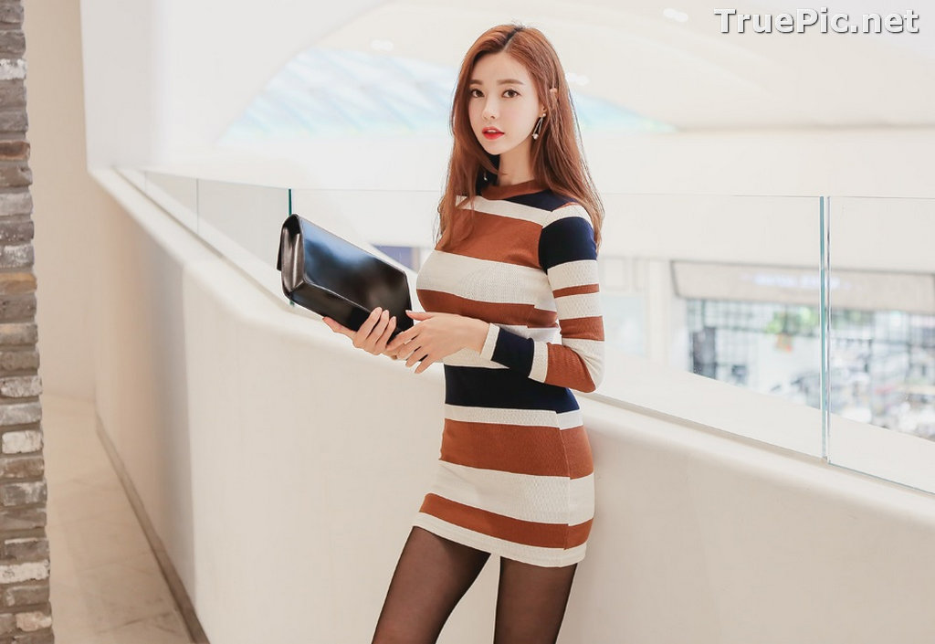 Image Korean Fashion Model – Hyemi – Office Dress Collection #2 - TruePic.net - Picture-5