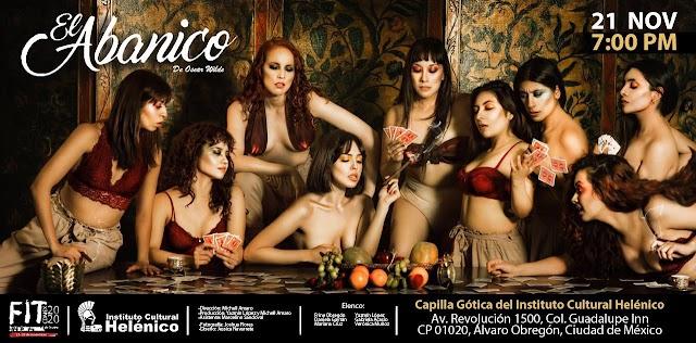 Abre el Festival Internacional de Teatro de la Ciudad de México con El abanico, bajo la dirección de Michell Amaro.