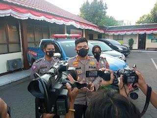 Satlantas Polres Pelabuhan Makassar Amankan Sopir dan Mobil Pelaku Tabrak Lari Pesepeda dijalan Nusantara