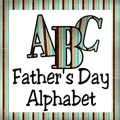 Make scrapbooking Fathers Day so much easier and fun with this free alphabet printable. You can DIY cards, scrapbook pages, candy bar wrappers, or posters with this PNG alphabet.