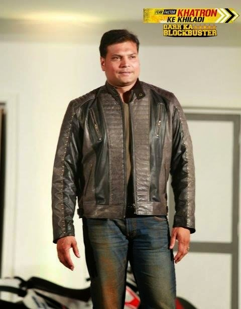 Dayanand Shetty in Fear Factor Khatron Ke Khiladi