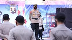 Personel Satbrimob Diganjar Penghargaan dari Kapolda Sumsel