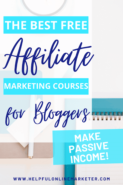 Would you like to earn passive income every month from your blog? Would you like to learn how to do it from experienced bloggers? In my blog post I put together a list of free affiliate marketing courses for bloggers. Each course is put together by someone who makes money blogging. Free courses for bloggers, affiliate marketing for beginners, best affiliate marketing courses.