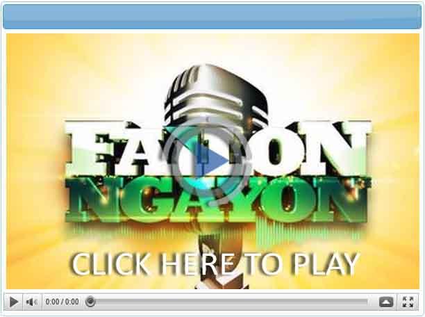 Failon Ngayon - Pinoy Show Biz  Your Online Pinoy Showbiz Portal