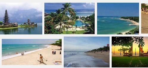 Kuta Beach, favorite shore excursions in Bali island