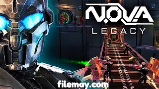 N.O.V.A legacy mod apk for android version 5.4.0i
