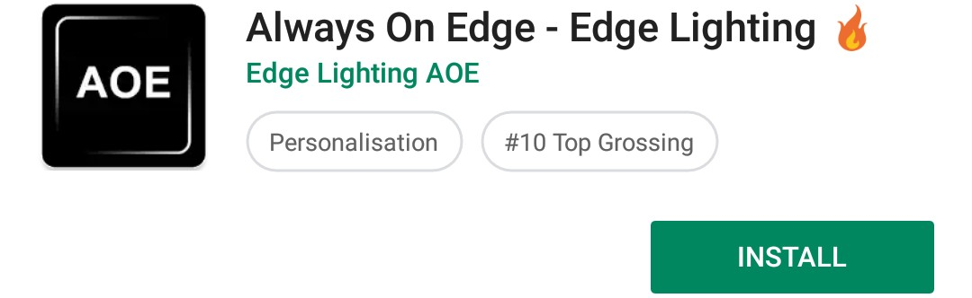 Download Always On Edge mobile android app