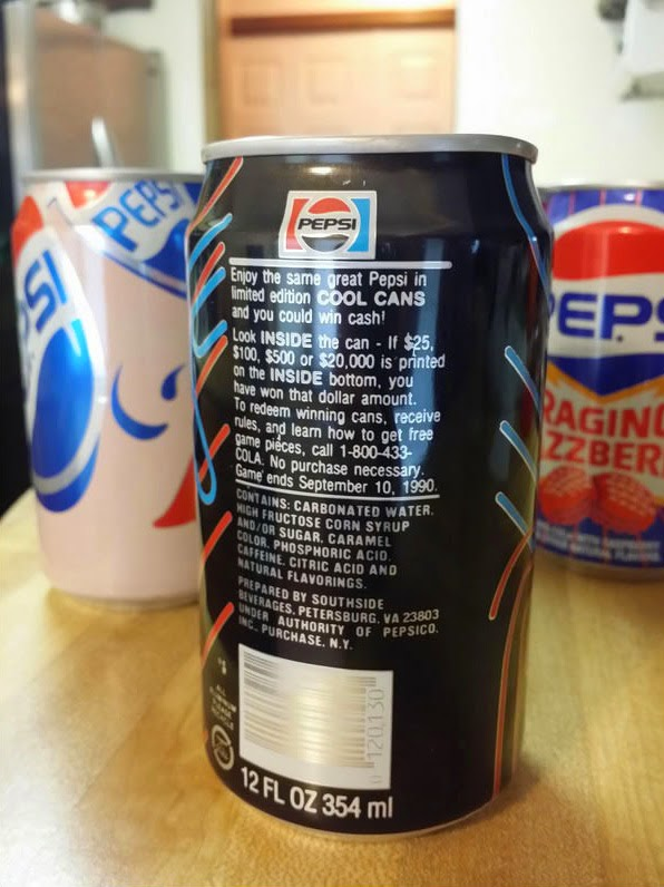 Pepsi Cool Cans