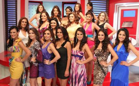 candidatas miss ecuador