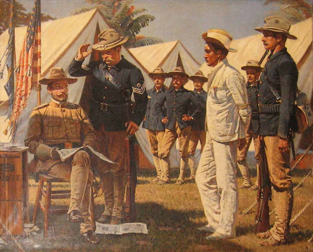 Василий Васильевич Верещагин - Шпион, эпизод из испано-американской войны. 1901
