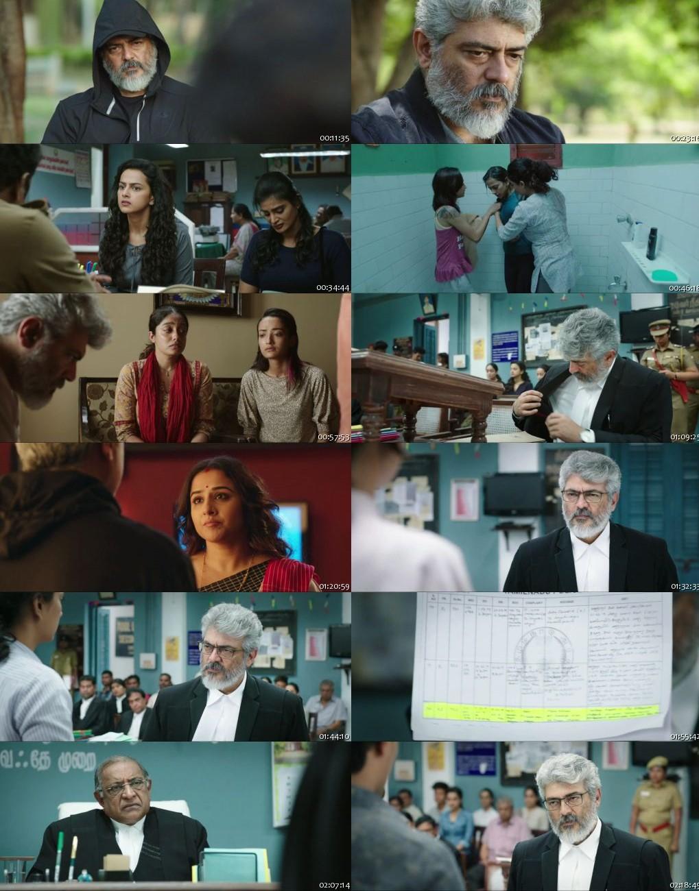 Nerkonda Paarvai 2019 Hindi Dubbed HDRip 720p