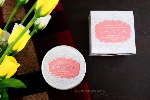 Vanya Anaarsoft Pomegranate Body Cream Review