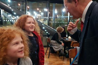 meeting michael morpurgo Mimi And The Mountain  Dragon BBC One animated film reviw