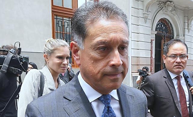 Juez Concepción Carhuancho dicta impedimento de salida del país para Gerardo Sepúlveda