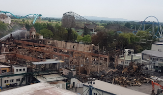 Europa Park Batavia Damage, Day After