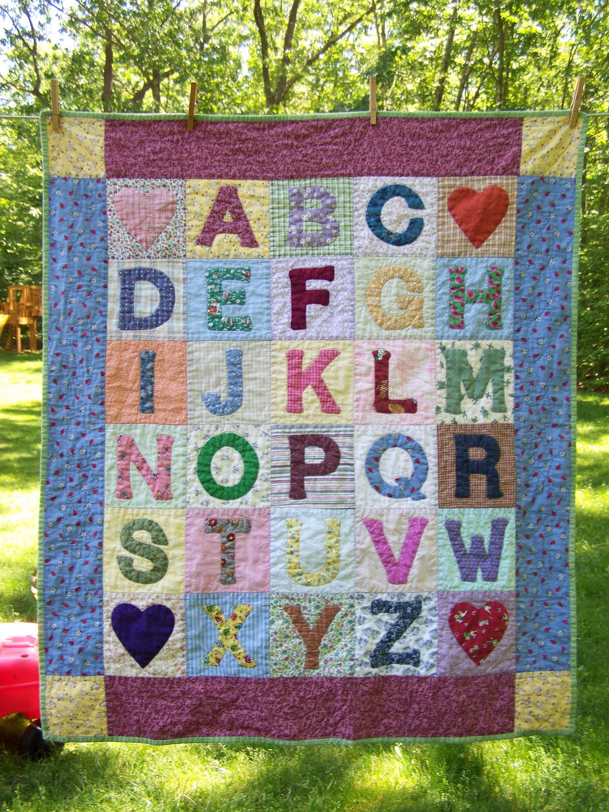 When Life Gives You Scraps, Make Quilts!: James' ABC Quilt