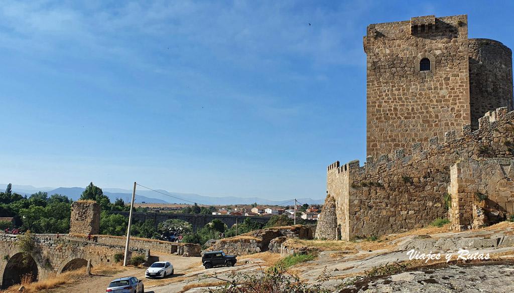 Castillo de Dávila, Puente del Congosto