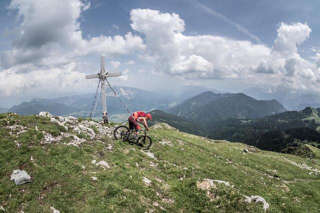 Mtb Touren Oisternig Trail Track Singletrail Bikebergsteigen