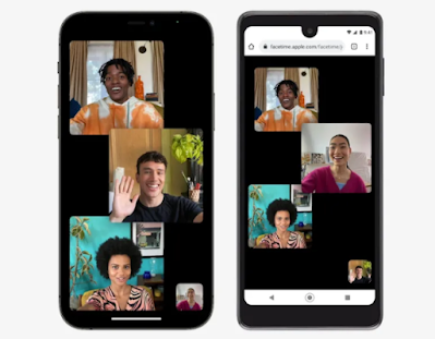 FaceTime is available on Android and Windows over the web