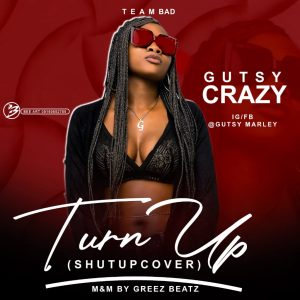 Gutsy Crazy – Turn up ( shut up cover)