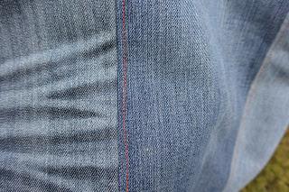 Sac épaule en jeans et liberty XXL