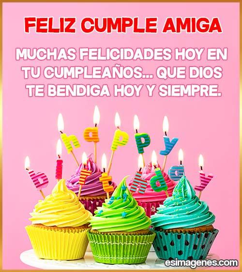 cumpleaños de la amiga