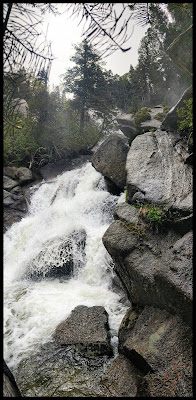 Lower Section of Bells Canyon Waterfall