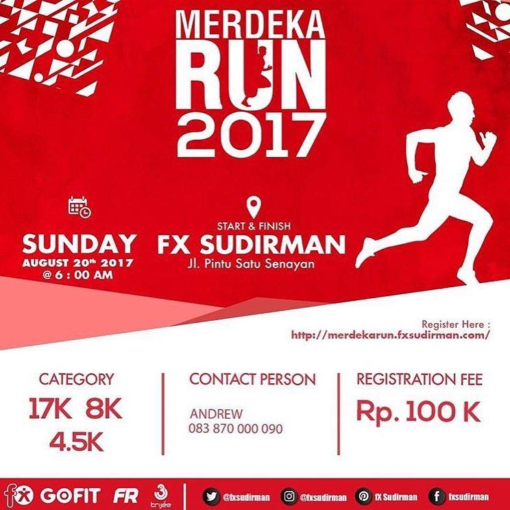 fX Merdeka Run • 2017