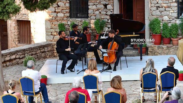 Στο Παλαμήδι με το Trio El Greco συνεχίστηκε το 29ο Μουσικό Φεστιβάλ Ναυπλίου (βίντεο)
