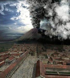 Sejarah Kota Pompeii Dan Gunung Vesuvius