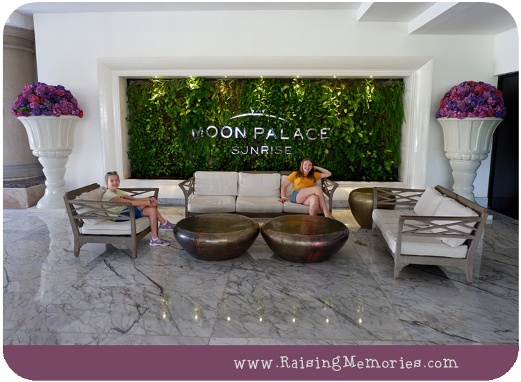 Moon Palace Resort Outdoor Lobby
