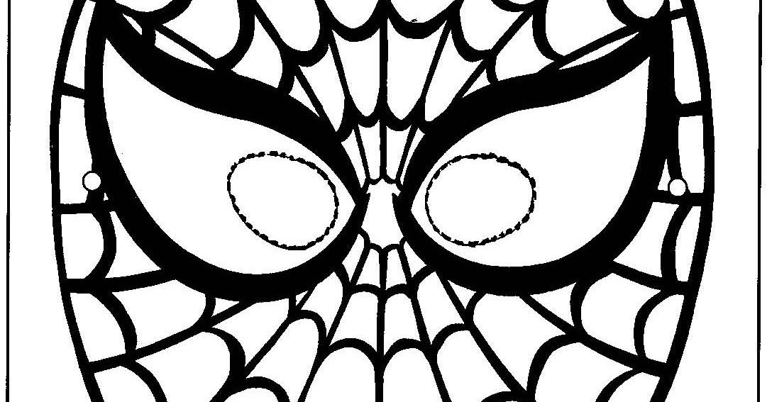 Mascara De Homem Aranha Espaco Educar