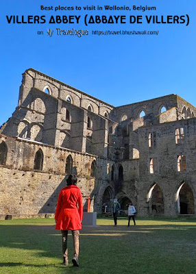 Abbaye de Villers Abbey Pinterest