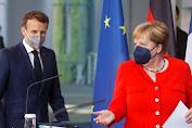 Merkel, Macron Imbau Uni Eropa Waspadai Varian Baru COVID-19