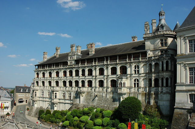 Zamek w Blois