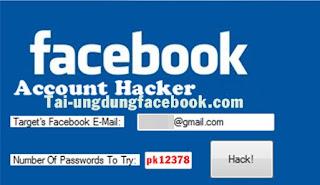 hack nick facebook 2018 thành công