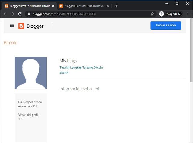 Perfiles de Blogger con Blogs disponibles