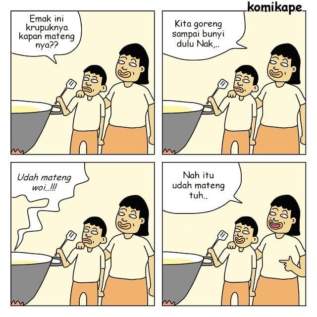 7 Komik Strip 'Kehidupan Orangtua' Ini Kualat Kalo Diketawain