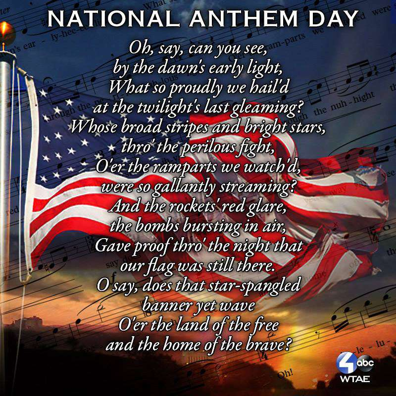 National Anthem Day Wishes Photos