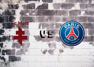 Metz vs Paris Saint-Germain  Resumen y Partido Completo