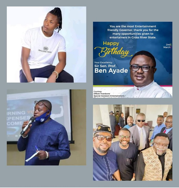 NEWS: 'ENTERTAINMENT FRIENDLY GOVERNOR AYADE' SPLASHES MILLIONS ON CROSS RIVER ENTERTAINERS